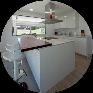 Cocina casa modular 1