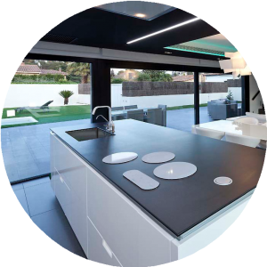 Cocina casa modular 2