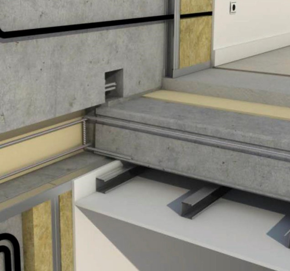 Fachada y estructura viviendas modulares